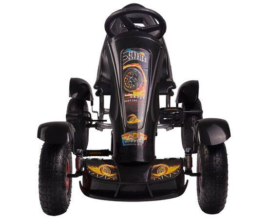 Kart cu pedale F618 Air negru Kidscare, poza 2