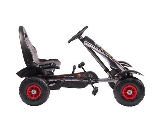 Kart cu pedale F618 Air negru Kidscare, poza 3