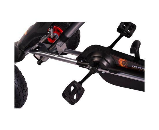 Kart cu pedale F618 Air negru Kidscare, poza 4