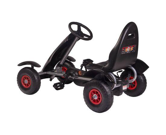 Kart cu pedale F618 Air negru Kidscare, poza 5