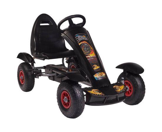 Kart cu pedale F618 Air negru Kidscare, poza 1